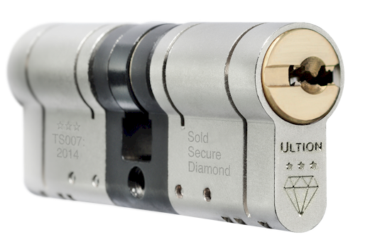Brisant Ultion cylinder lock